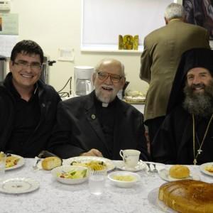 Fr. Julian, Fr. Harkas, Fr. Christodoulous